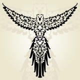 Decoratieve papegaai Royalty-vrije Stock Afbeelding
