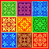 Decoratieve patronen Stock Foto