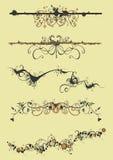 Decoratieve patronen stock illustratie