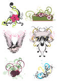 Decoratieve patronen vector illustratie