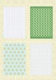 Decoratieve patronen en normen Stock Foto's
