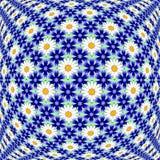Decoratieve patroon van de ontwerp het kleurrijke bloem Stock Afbeelding