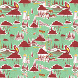 Roze decoratieve patroonillustratie Stock Foto's