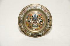 Decoratieve plaat Royalty-vrije Stock Fotografie