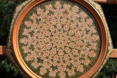 Decoratieve plaat Stock Fotografie
