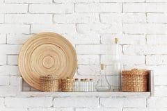 Decoratieve plank royalty-vrije stock afbeelding