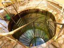 Decoratieve pool voor het doopsel van het zwemmen in de zonnige de zomer horizontale foto royalty-vrije stock afbeeldingen