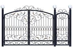 Decoratieve poort en deur Royalty-vrije Stock Afbeelding