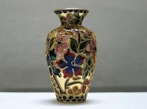 Decoratieve pot royalty-vrije stock afbeeldingen