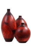 Decoratieve potten Stock Fotografie