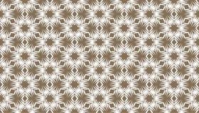 Decoratieve punten en bloemen geometrisch herhaald patroonontwerp vector illustratie