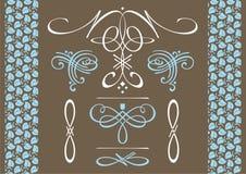 Decoratieve punten voor decoratie Stock Foto's