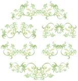 Decoratieve reeks IV Stock Afbeeldingen