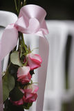 Decoratieve rozen Royalty-vrije Stock Foto's