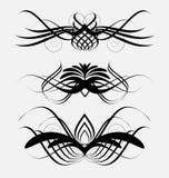 Decoratieve sierelementen Stock Afbeeldingen