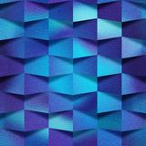 Decoratieve steenmuur, Blauwe baksteentegels, Binnenlands behang, naadloze achtergrond vector illustratie