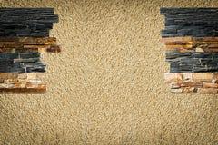 Decoratieve stenen in het binnenland stock fotografie