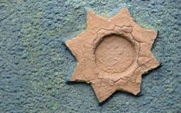 Decoratieve ster Royalty-vrije Stock Afbeeldingen