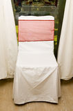 Decoratieve stoel royalty-vrije stock fotografie