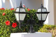 Decoratieve straatlantaarn royalty-vrije stock afbeelding
