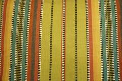 Decoratieve strepen op canvas Stock Foto