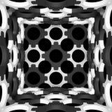 Decoratieve structurele ontwerpachtergronden 3D Illustratie Royalty-vrije Stock Foto
