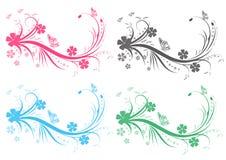 Decoratieve tak royalty-vrije illustratie