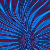 Decoratieve tegel van naadloos patroon met abstracte golvende vormen Stock Foto