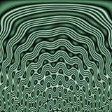 Decoratieve tegel van naadloos patroon met abstracte golvende vormen Royalty-vrije Stock Afbeeldingen