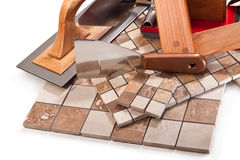 Decoratieve tegels voor keuken en badkamers Royalty-vrije Stock Afbeelding
