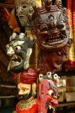 Decoratieve traditionele maskers Royalty-vrije Stock Foto's