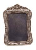 Decoratieve uitstekende zilveren omlijsting Royalty-vrije Stock Foto