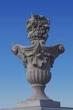 Decoratieve vaas als buitenkant van het ontwerpelement Royalty-vrije Stock Fotografie