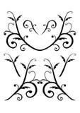Decoratieve vectorornamenten Royalty-vrije Stock Afbeelding