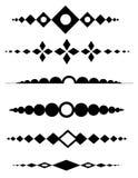 Decoratieve verdelers vector illustratie