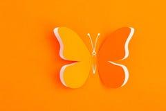 Decoratieve vlinder Stock Afbeelding