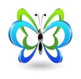 Decoratieve vlinder. Royalty-vrije Stock Fotografie