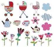 Decoratieve voorwerpen Stock Foto's