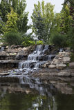 Decoratieve waterval royalty-vrije stock afbeeldingen