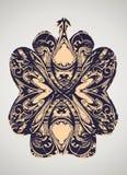 Decoratieve wijnoogst. royalty-vrije stock afbeeldingen