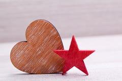 Decoratiion сердца для wedding Стоковое фото RF