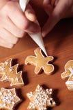 Decoratin gookies Royalty Free Stock Photography