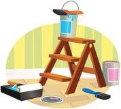 decorating stock de ilustración