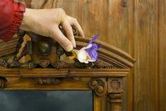 Decorating Antique Furniture Stock Image
