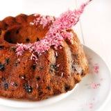 Decorating cake Stock Photo