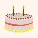 Decorating cake elements vector,eps Royalty Free Stock Photos