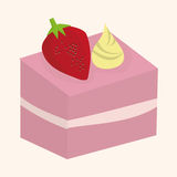 Decorating cake elements vector,eps Royalty Free Stock Images