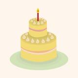 Decorating cake elements vector,eps Stock Image