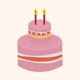 Decorating cake elements vector,eps Royalty Free Stock Photo