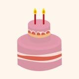 Decorating cake elements vector,eps Royalty Free Stock Photo